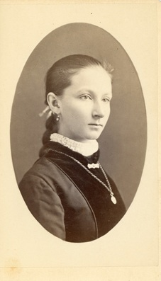 Unidentified Female  by Kimball's Studio Lowell