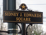Edwards Square sign