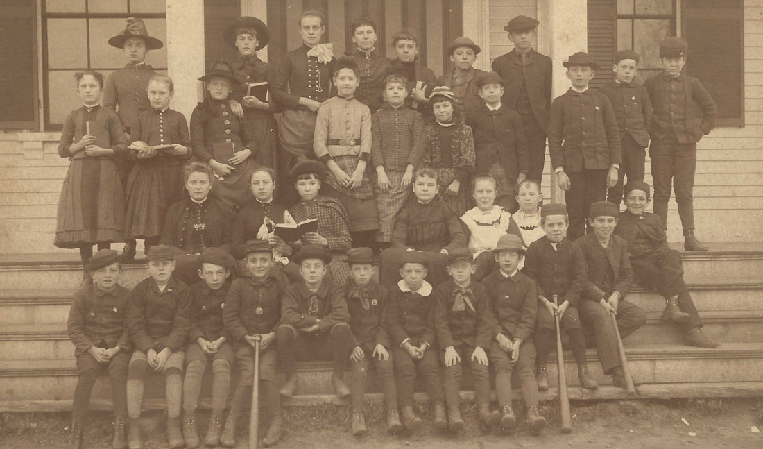 West Acton School Students 1886