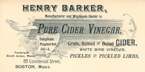 Henry Barker Cider business envelope