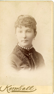 Unidentified woman, possibly Lizzie Cash