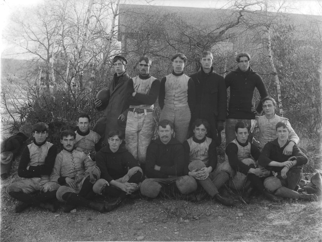 West Acton Football Team mid 1890s