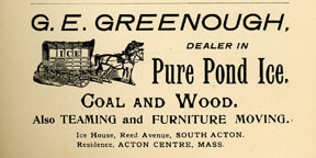 G. E. Greenough Ice ad, 1902