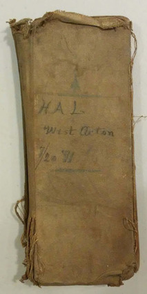 Account Book, Hanson Littlefield