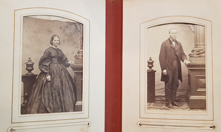 Unidentified Woman & Man