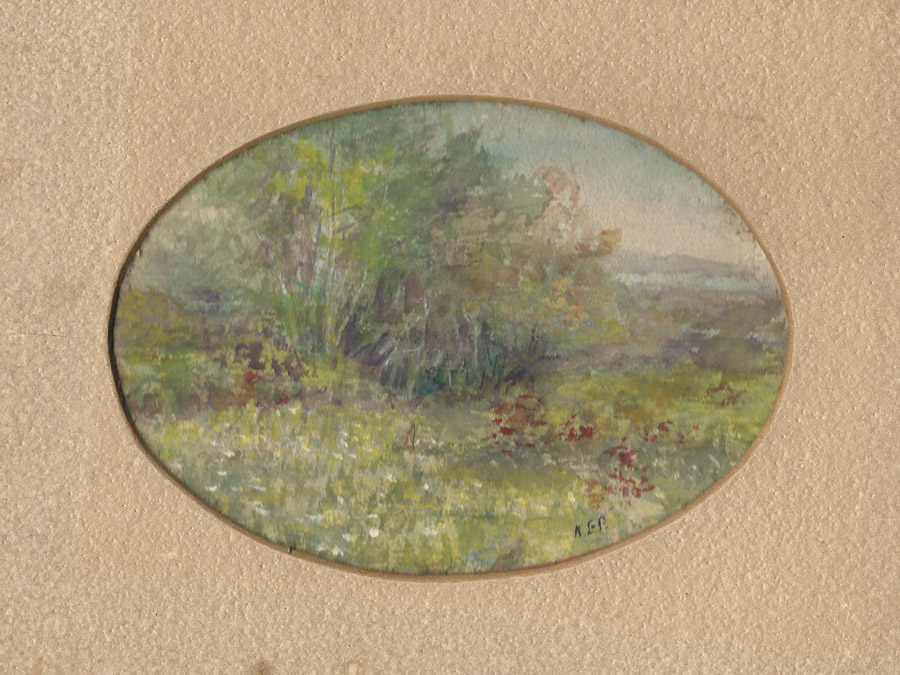 Annie Payson painting, Acton