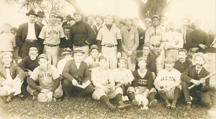 Acton Baseball Team c 1900-1910