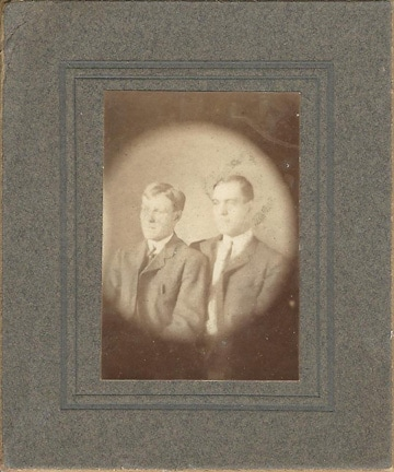Two Young Men, Unidentified